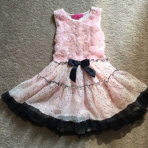 Betsey Johnson pink fluffy dress